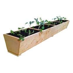 Macrocarpa Herb Planter - 1800L (4 divisions)