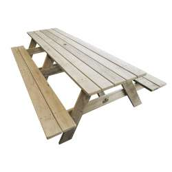 """Kiwi Classic - HEAVY DUTY - 2.4mtr Long"" - Adults Picnic / BBQ Table"