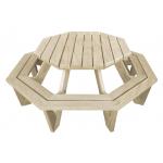 """Ocky The Octopus"" - Kids Octagon BBQ Table - 8 Seats"