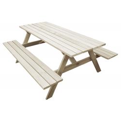 """Kiwi Classic - 1.8m Long"" - Adults Traditional Picnic Table / Classic BBQ Table"