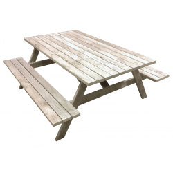 """""""Kiwi Super-Sized - 1.8m Long"""" - Wide Adults Picnic Tables / BBQ Tables"""