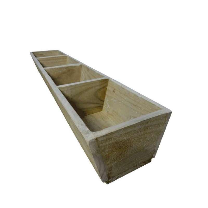 Herb Planter Box 1200 Long 4x Divisions Breswa