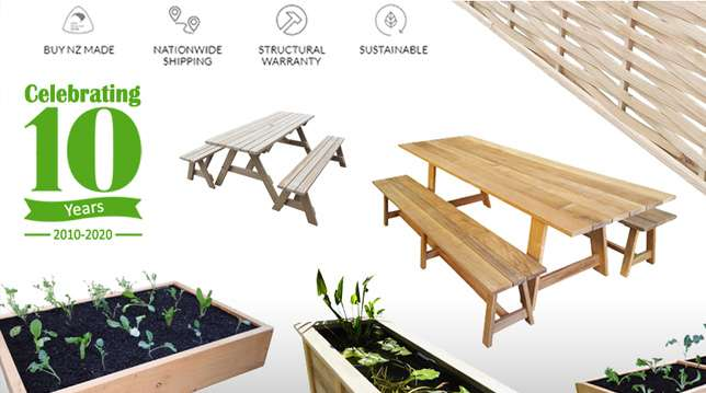Providing Outdoor Furniture to New Zealand for 10 years!