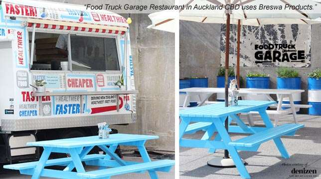 Food Truck Garage - Restaurant in Auckland CBD uses Breswa Products